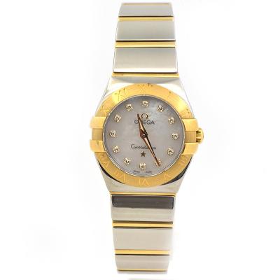 【二手95新】歐米茄OMEGA星座系列123.20.27.60.55.002女表石英奢侈品鐘手表腕表
