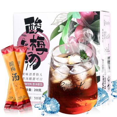 【買2送杯】蒲草茶坊酸梅湯 單獨包裝酸梅粉泡水夏日飲品含糖固體冷泡冷藏200g