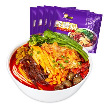 【預售】好歡螺螺螄粉柳州特產美食酸辣粉300gx5袋螺獅粉速食方便面米線