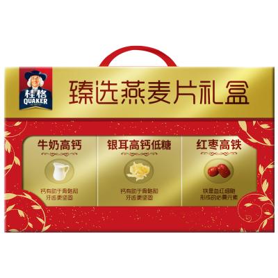 桂格(Qukaer)臻选燕麦片礼盒860克