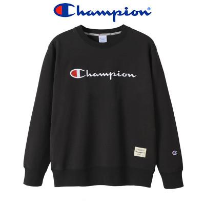 正品champion冠軍新款經典串標LOGO男女情侶款長袖圓領套頭衛衣