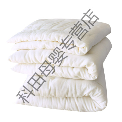 婴儿床垫床褥子芯儿童宝宝盖垫被内胆被芯幼儿园铺被四季通用应学乐 100*180cm褥芯中厚3斤加厚4斤 加厚