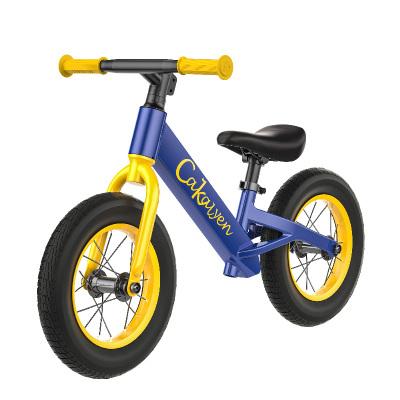 Cakalyen 美國可萊茵 平衡車兒童自行車寶寶童車滑步車兩輪滑行車12寸皇家騎士系列 K01 升級款充氣胎帶腳踏