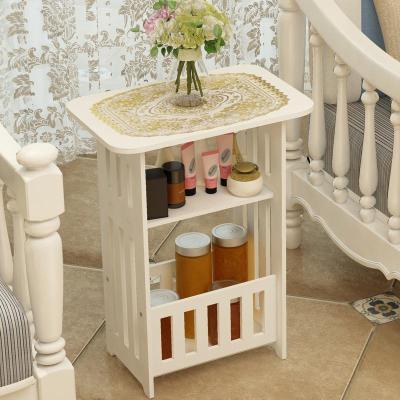 茶几简约客厅小圆桌小户型阳台边几卧室床头柜简易创意方桌子
