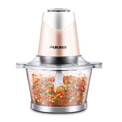 【全新升級】奧克斯(AUX)J3016絞肉機攪拌機自動家用電動小型多功能碎肉打絞菜蒜蓉器碎菜攪肉絞餡機新品特賣