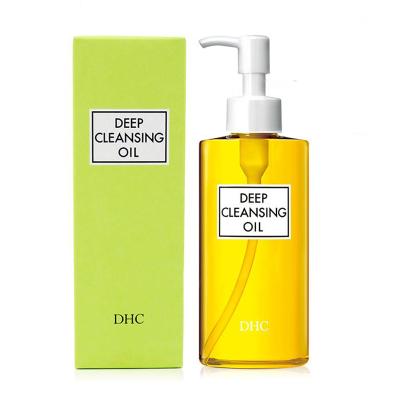 DHC橄欖卸妝油200ML溫和眼部唇部臉部深層清潔角質大黃瓶