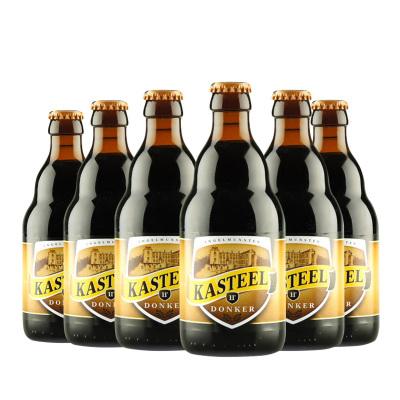 比利時進口 精釀啤酒 KASTEEL 卡斯特黑啤酒330ml*6瓶
