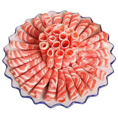 首鮮源 羔羊肉片500g/袋 新西蘭進口 冷凍生鮮肉類 火鍋食材