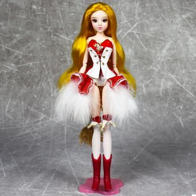 德必勝MMGIRL十二星座獅子座動漫風女孩玩具換裝洋娃娃男孩女孩玩具芭比娃娃生日禮物M2005