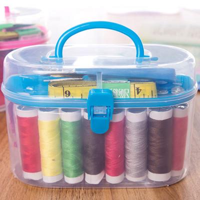 宜莱芙 针线盒10件套 实用居家缝补盒 全能便携整理针线包缝补包