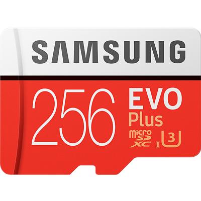三星(SAMSUNG) microSD存儲卡 256GB讀取100MB/s 4K 高性能 Switch 無人機 TF卡