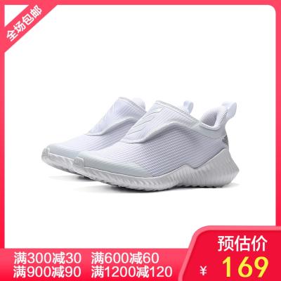 阿迪達斯童男鞋兒童鞋魔術貼運動休閑運動鞋EF0146