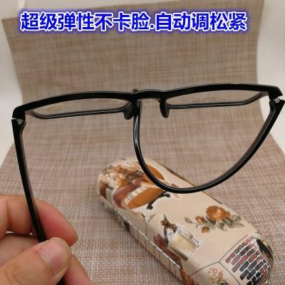 男女款防輔射藍光眼鏡小框近視鏡100度200度300度400度500度600 1點61加薄防輔射 亮黑色彩腿(度數備