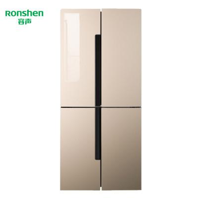 【99新】容聲(Ronshen)BCD-460WSK2FPGA 十字對開門冰箱 風冷無霜 LED 變頻雙循環 玻璃面板