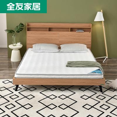 【搶】全友家私 臥室家具雙人床墊 椰棕床墊 簡約現代床墊1.5/1.8米大床棕墊105056