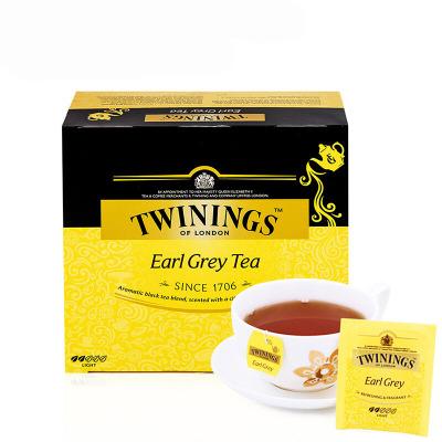 英國川寧(TWININGS) 豪門伯爵經典紅茶50包*2g 波蘭進口茶葉袋泡茶包