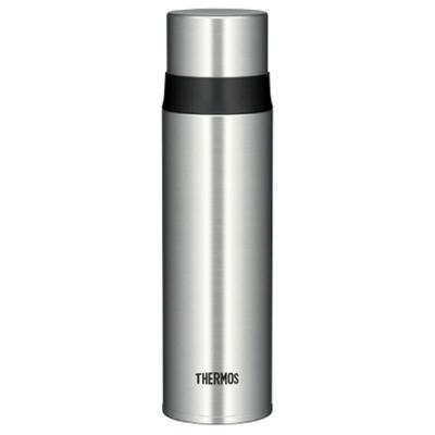 【金屬風采】THERMOS膳魔師 超輕不銹鋼真空保溫保冷杯 500毫升 FFM-500 銀色保溫杯保溫壺