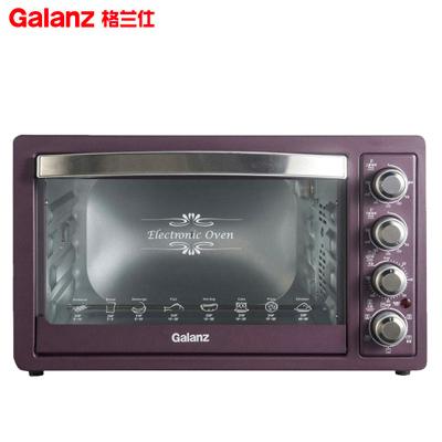 格蘭仕(Galanz)電烤箱 K1T 上下管獨立控溫 熱風循環 32L 低溫發酵 旋轉帶烤叉 電烤爐