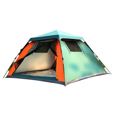 三極戶外(Tripolar) TP2618 戶外帳篷3-4人全自動旅游休閑帳篷野外野營家庭情侶旋壓式免搭建帳篷