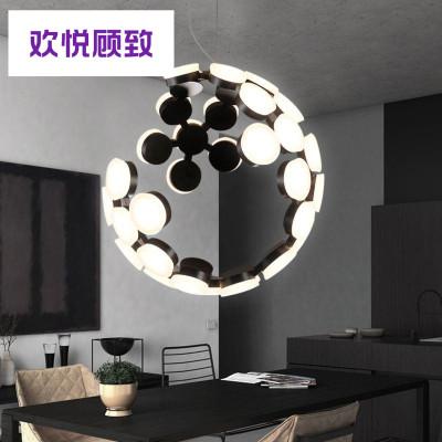 服装店后现代吊灯led餐厅卧室吧台客厅创意个性艺术时尚吊灯