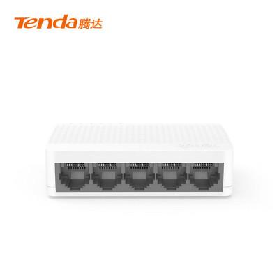 騰達(Tenda)S105 5口百兆交換機 4口家用宿舍交換器 監控網絡網線分線器 分流器 兼容攝像頭