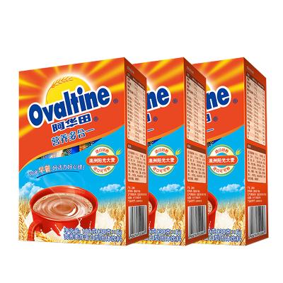 阿华田(Ovaltine)可可粉 营养早餐代餐 奶茶冲饮 蛋白型固体饮料180g(30g*6)*3盒