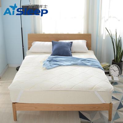 睡眠博士(AiSleep)床垫 进口乳胶双人床垫 简约风条纹/格子 透气舒睡乳胶床褥