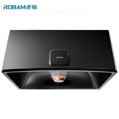 老板(ROBAM)16立方中式按键式黑色经典抽油烟机CXW-185-3009 性价比力荐