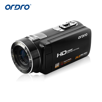 歐達(ORDRO)Z8 高清數碼攝像機 攝像機 高清家用旅游 3英寸觸控屏800萬像素 攝影機/DV/錄像機/dv/像機