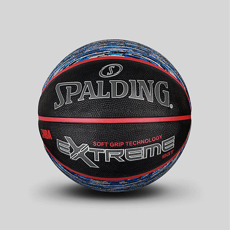 Spalding брэндийн сагсан бөмбөг 83-501Y арьсан материалтай улаан хар өнгө