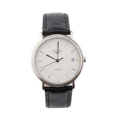 【二手95新】浪琴LONGINES优雅系列L4.721.4.18.2男表自动机械奢侈品钟手表腕表