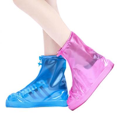 木西十【升级防滑加厚款】百搭防水鞋套户外旅游防雨鞋套男女学生雨靴套