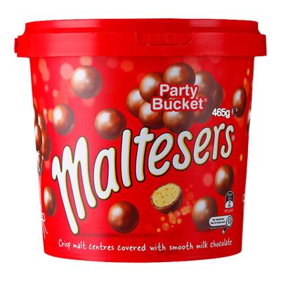 澳洲進口麥提沙Maltesers麥麗素麥提莎夾心巧克力球465g/罐裝 進口零食麥提沙脆心牛奶巧克力