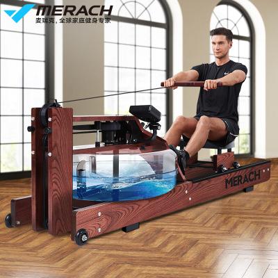 麦瑞克(MERACH)划船机 家用水阻划船器 纸牌屋健身器材MR-902