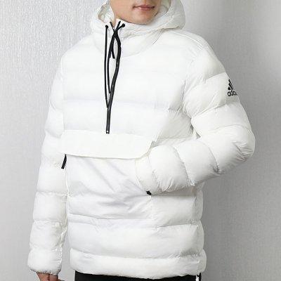 阿迪达斯(adidas)2018冬季新款男装防寒保暖棉服连帽防风外套夹克CY8638