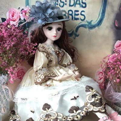 星域傳奇 60厘米芭比娃娃禮盒套裝女孩公主玩具會說話的洋娃娃bjd仿真智能娃娃