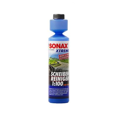 索纳克斯(SONAX)1:100 浓缩玻璃清洁剂 250 毫升 德国进口 玻璃水 皮革/塑料