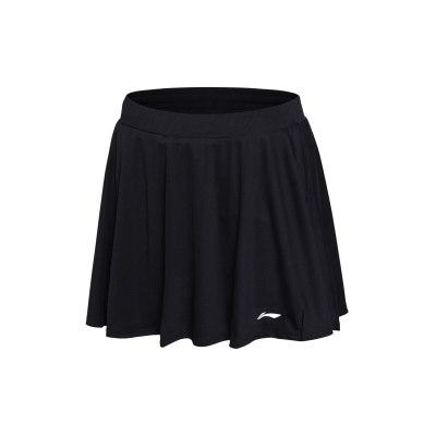 李寧運動裙女士羽毛球系列短褲速干羽毛球服涼爽針織短裝運動褲