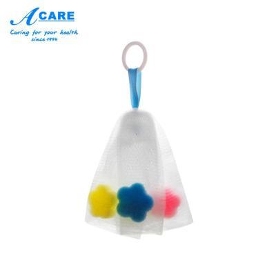 acare艾呵 起泡网洗面奶搓手工香皂打泡器泡沫洁面肥皂网泡袋子洗脸部专用海绵小号1个