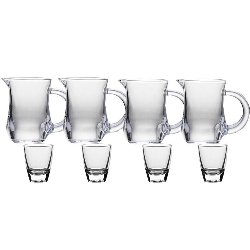 青苹果 白酒具8件套分酒器*4+白酒杯*4 BJZH/L4