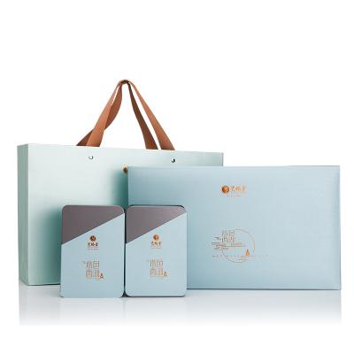 【2020新茶上市】藝福堂明前特級西湖龍井茶葉禮盒裝 水色西湖 綠茶茶葉春茶送禮禮盒