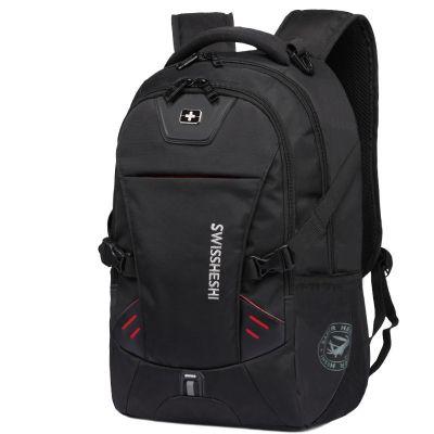 送運費險 男士雙肩包背包15.6/17英寸電腦包大容量運動休閑包VICTORIAMRY商務旅行包女韓版學生書包