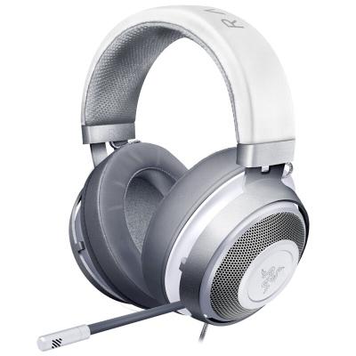 雷蛇(Razer)北海巨妖水銀 7.1虛擬環繞聲 電競電腦有線游戲耳機 清涼耳罩