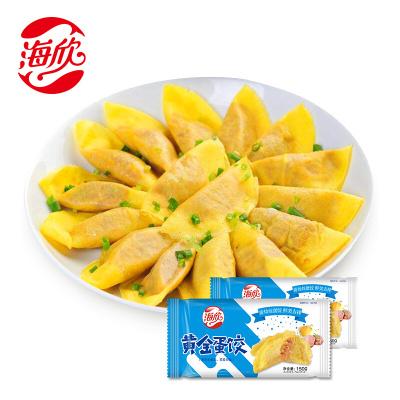海欣黄金蛋饺150g*2煎炸火锅食材半成品菜10*2个装速冻食材生鲜火锅丸料