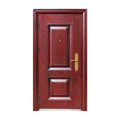 甲級防盜門家用安全進戶門鋼質室內出租房間門入戶外子母單門工程