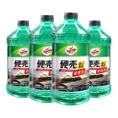龜牌(Turtle Wax)去油膜玻璃水0℃ (G-4081-4) 2L*4瓶