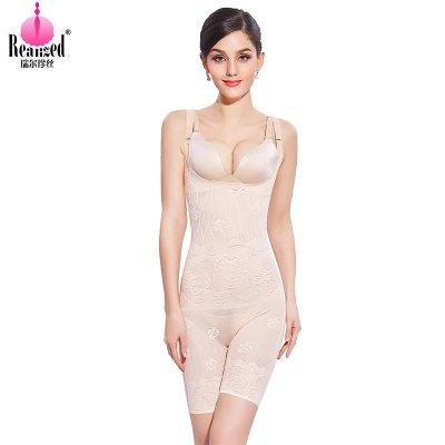 瑞爾珍絲(RUIERZHENSI)塑身衣連體后脫性感收腹束腰提臀美體內衣收胃塑形束身衣