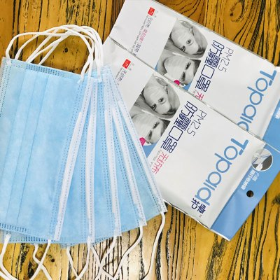 FDA認證 成人一交性防霧?飛濺口鼻罩 5只裝耳帶式防護口Z罩防塵透氣 復工開學出行三層隨棄型舒適面罩 優質