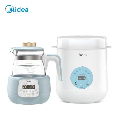 美的(Midea)母嬰電器兩件套(調奶器+暖奶器)
