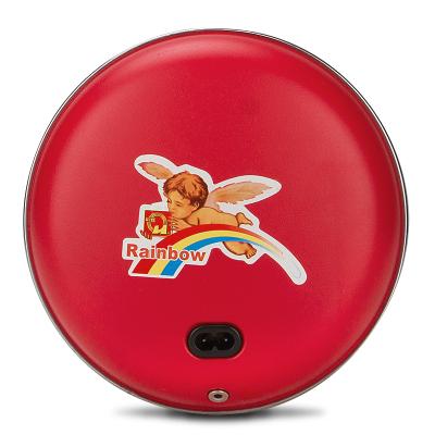 彩虹(RAINBOW)電熱暖手器(大號) 充電暖手爐暖手寶 取暖絨布套安全防爆